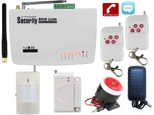 Alarm System With GSM Alert